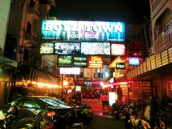 Pattaya soi13 boystown