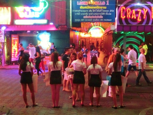 pattaya walking street girls